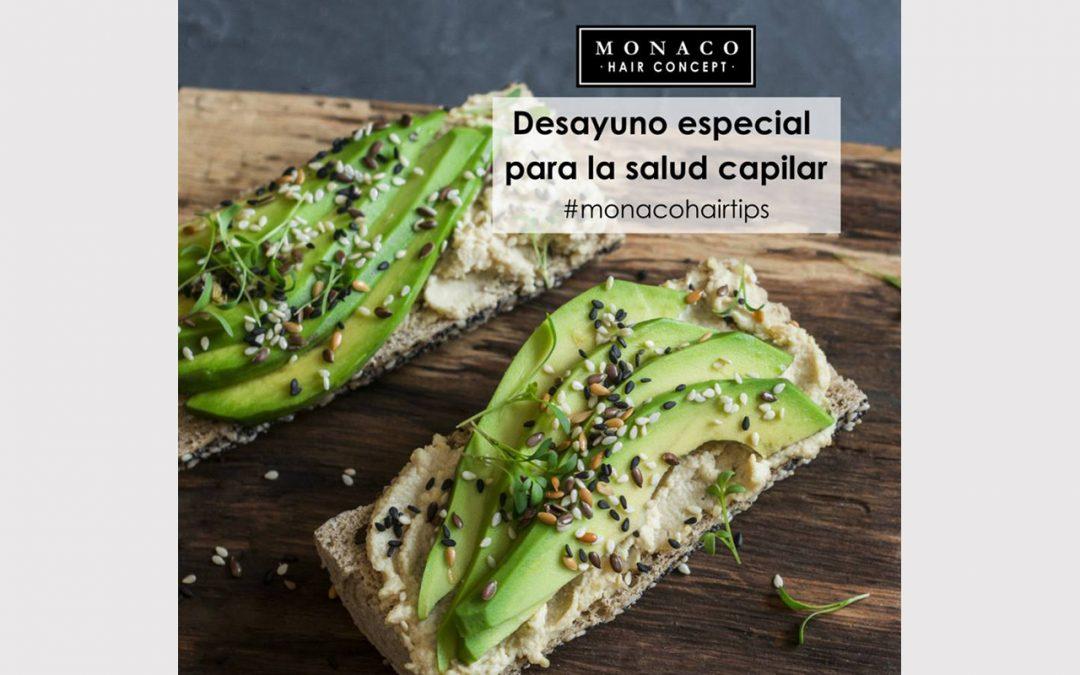 Desayuno especial para salud capilar